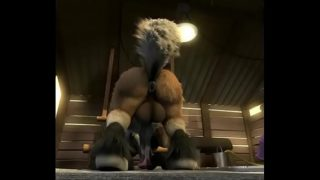 Hot furry wolf pounds and creampies donkey in barn