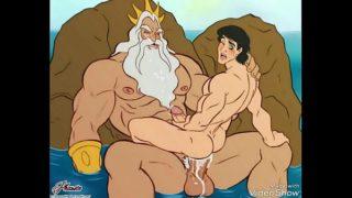 Little Mermaid Gay Cartoon Porn Comic Story