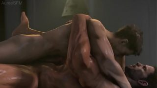 Piers Nivans bangs Chris Redfield Resident Evil SFM