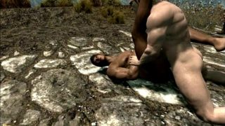 Skyrim Elf Fucking Outdoor Orgy 3D Animation