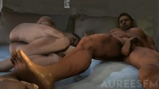 Resident Evil Gay Porn Chris x Peirs x Leon x Jake Orgy