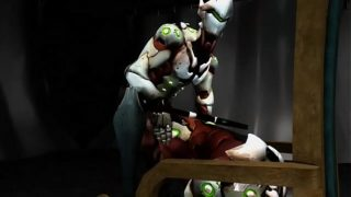 Gay Overwatch Porn Genji fucks Genji in 3D